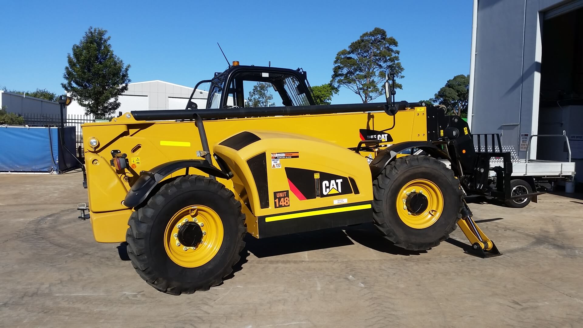 Cat TH417D Telehandler